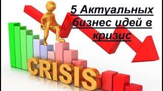 видео Каким бизнесом можно выгодно заняться в кризис