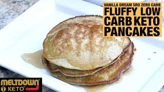 How to Make Low Carb Keto Protein Pancakes