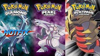 GDQ Hotfix presents Pokémon Diamond, Pearl and Platinum Anniversary Special