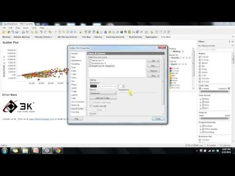 how to create information link in spotfire