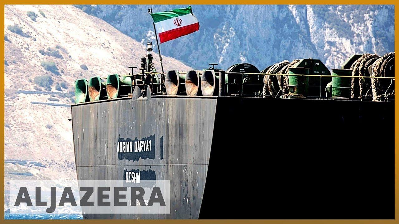 AlJazeera English:Iran tanker departs after Gibraltar rejects US demand