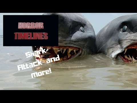 Horror Timelines Episode 36 : Shark Attack, #Headed Shark Attack, and more!