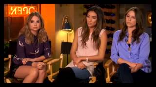 Pretty Little Liars Facebook Live Chat Part 3 10/21/13