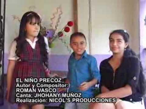 JHOHANY MUÑOZ - EL NIÑO PRECOZ - Musica Parrandera de Diciembre. Lo ultimo 2013