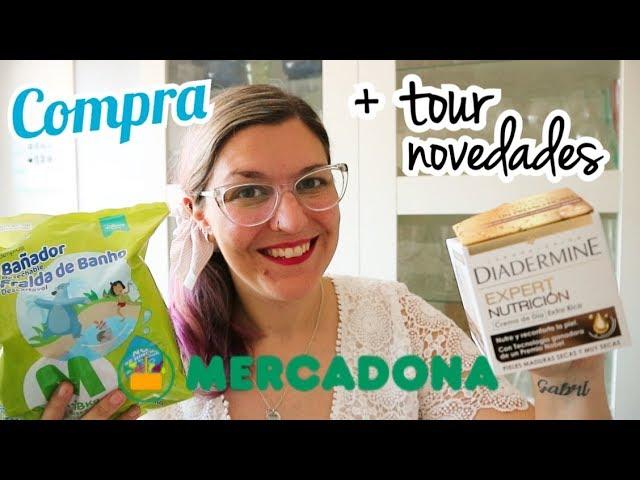 COMPRA SEMANAL MERCADONA + Tour | Novedades Mercadona Junio 2019