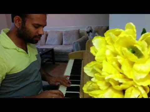 Playing piano by Sandeep