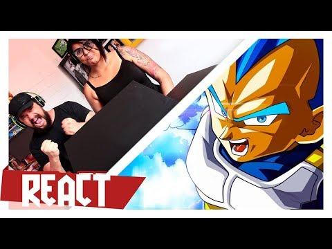 VMZ ft TAUZ - RAP DO VEGETA (Dragonball Super)  | React thumbnail