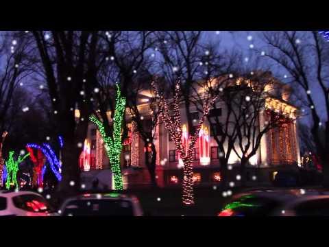Prescott Courthouse Square Christmas Lights (HD)