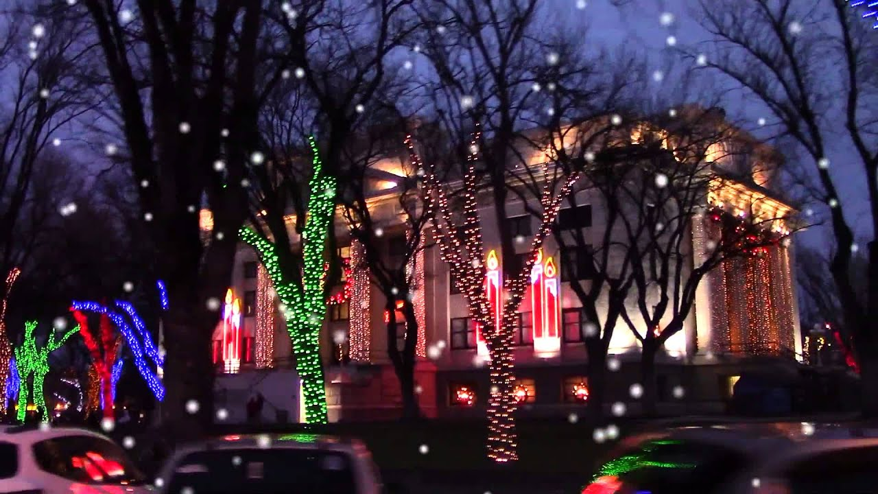Prescott Courthouse Square Christmas Lights (HD) - YouTube