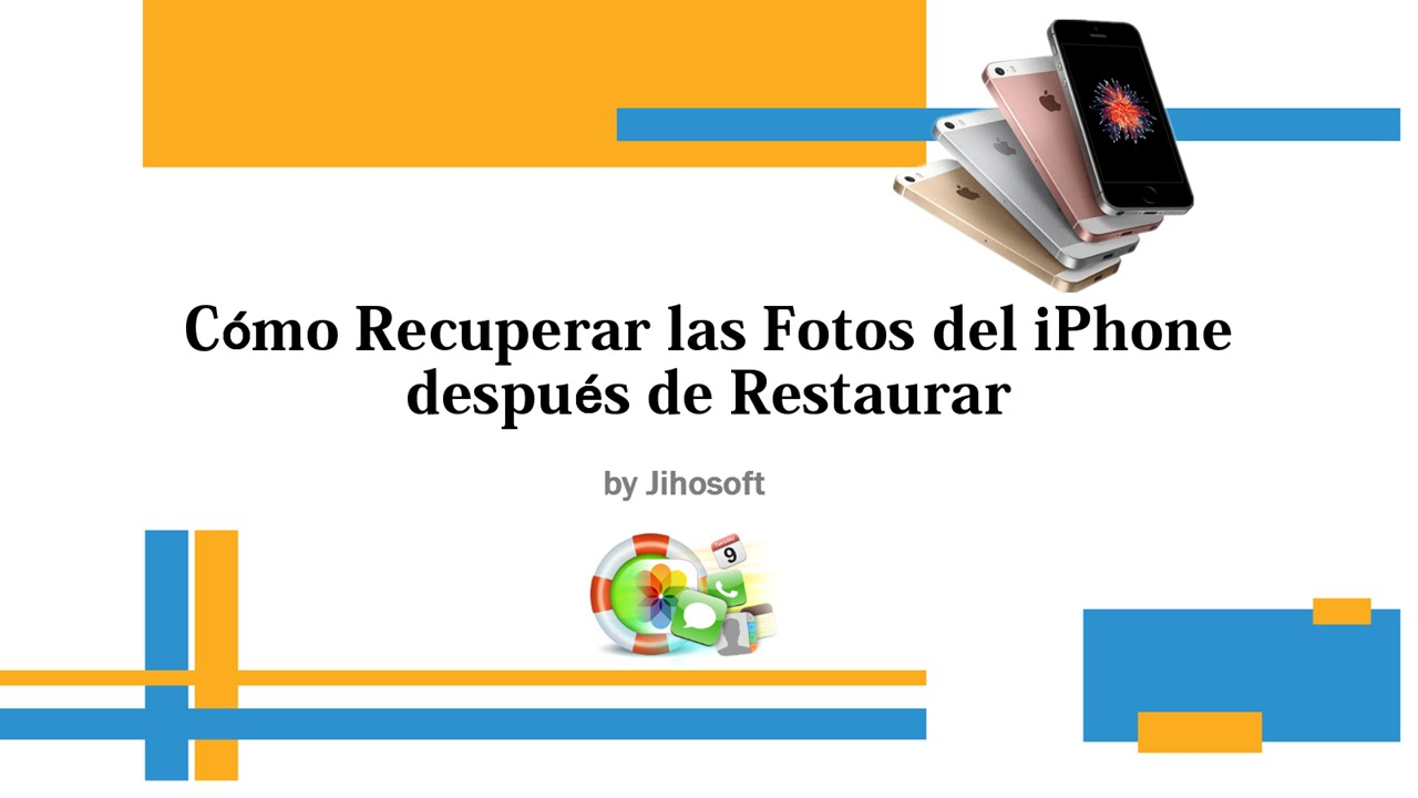 recuperar fotos iphone 6 restaurado