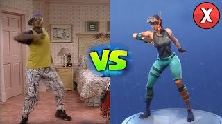 TOP 7 FORTNITE DANCES IN REAL LIFE PART 2 L Almanac X