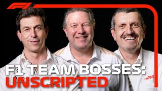 2021 F1 Team Bosses On Working With Drivers, Managing Teams And More | F1 Unscripted