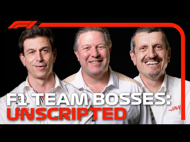 2021 F1 Team Bosses On Working With Drivers, Managing Teams And More   F1 Unscripted
