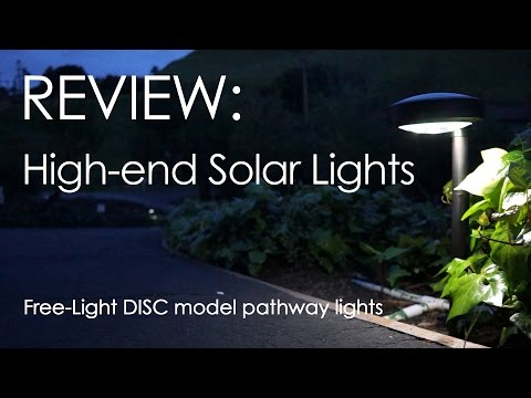 Free-Light DISC Solar Light Review & Unboxing