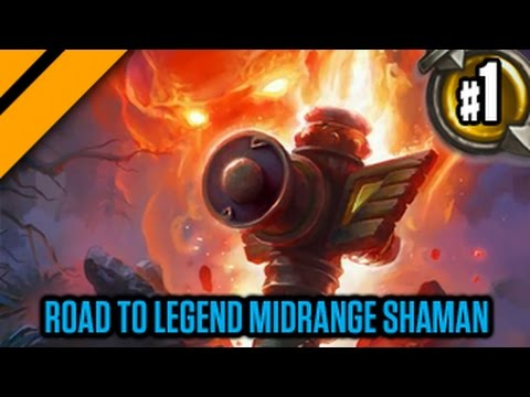 Day[9] HearthStone Decktacular #276 - Road to Legend Midrange Shaman P1
