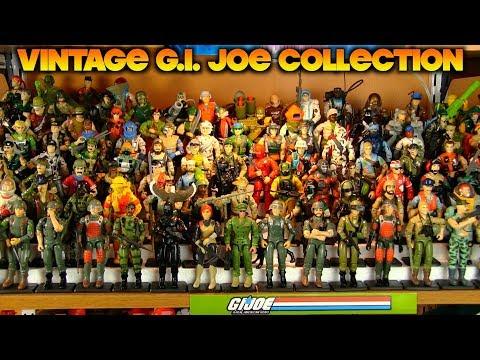 My Vintage G.I. Joe Figure Collection (1982 To 1993) With New Setup!