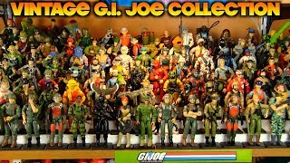 My Vintage G.I. Joe Figure Collection (1982 to 1993) with New Setup!