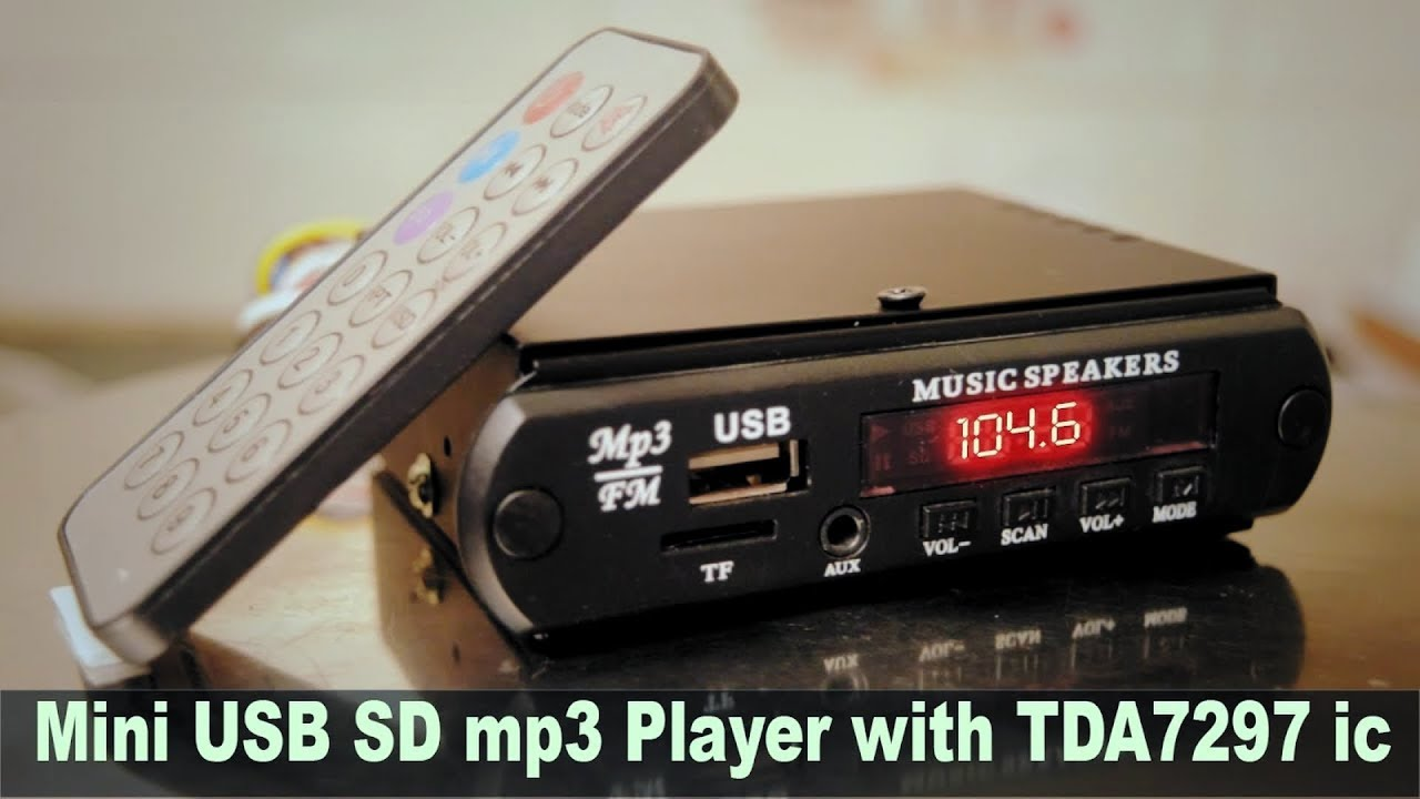 Diy Mini Usb Sd Card Mp3 Player With Tda 7297 Audio Ic Hindi Wiring Diagram Electronics Electro India Youtube