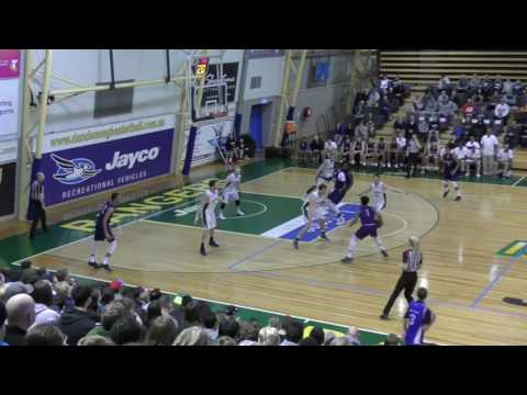 Dandenong Rangers vs. Uni. of Washington Huskies