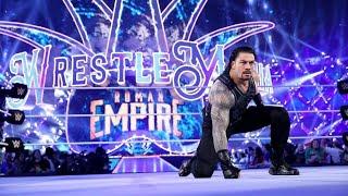 Roman Reigns Entrance Wrestlemania 34 ||LIVE REACTION||