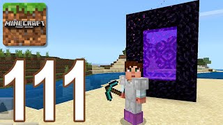 Minecraft: Pocket Edition - Gameplay Walkthrough Part 111 - Old Nether (iOS, Android)