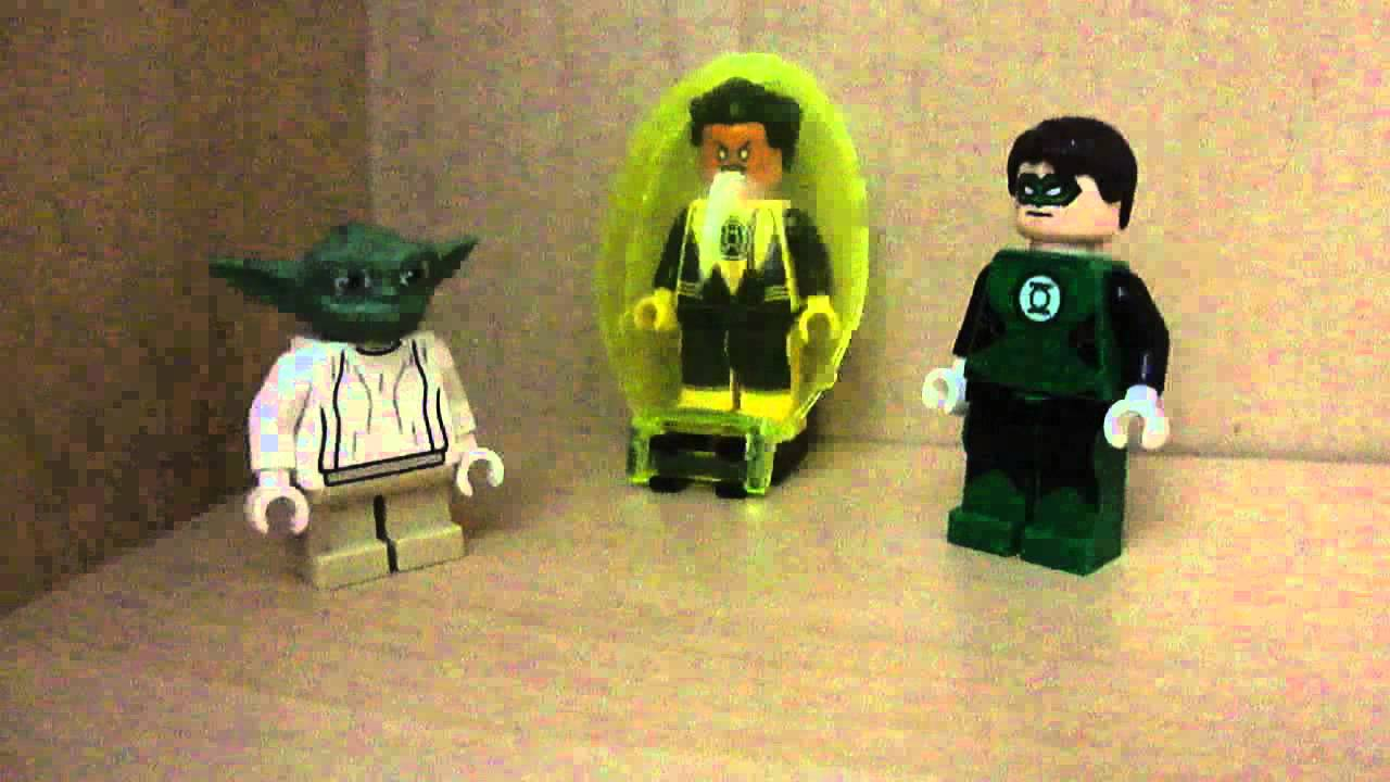 LEGO DC ORIGINS Episode 22:Green Lantern - Red Lantern ...
