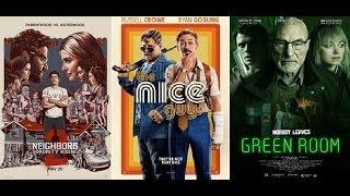AJ's Movie Reviews: Neighbors 2: Sorority Rising, The Nice Guys & Green Room(5-20-16)