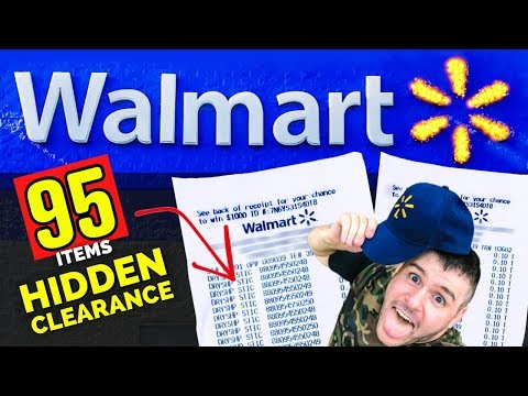 I Bought 95 HIDDEN Clearance Items At Walmart!
