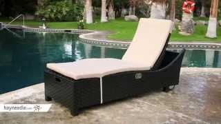 Anacara Bimini Adjustable Chaise Lounge - Product Review Video