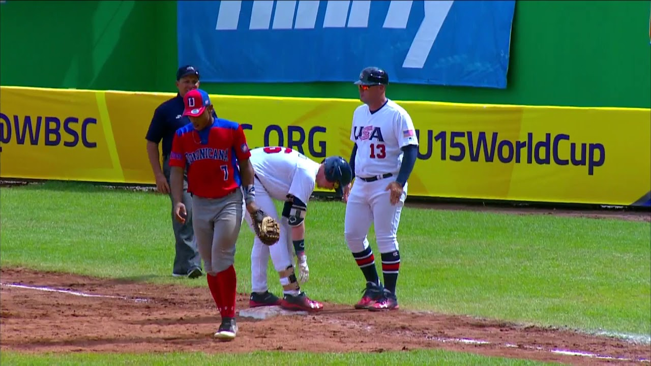 Highlights: Dominican Republic v USA - U-15 Baseball World Cup 2018