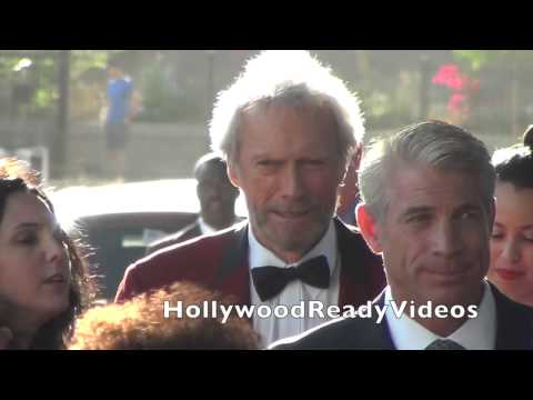 Clint Eastwood arrives at the Jersey Boys premiere at Regal Cinemas in downtown LA