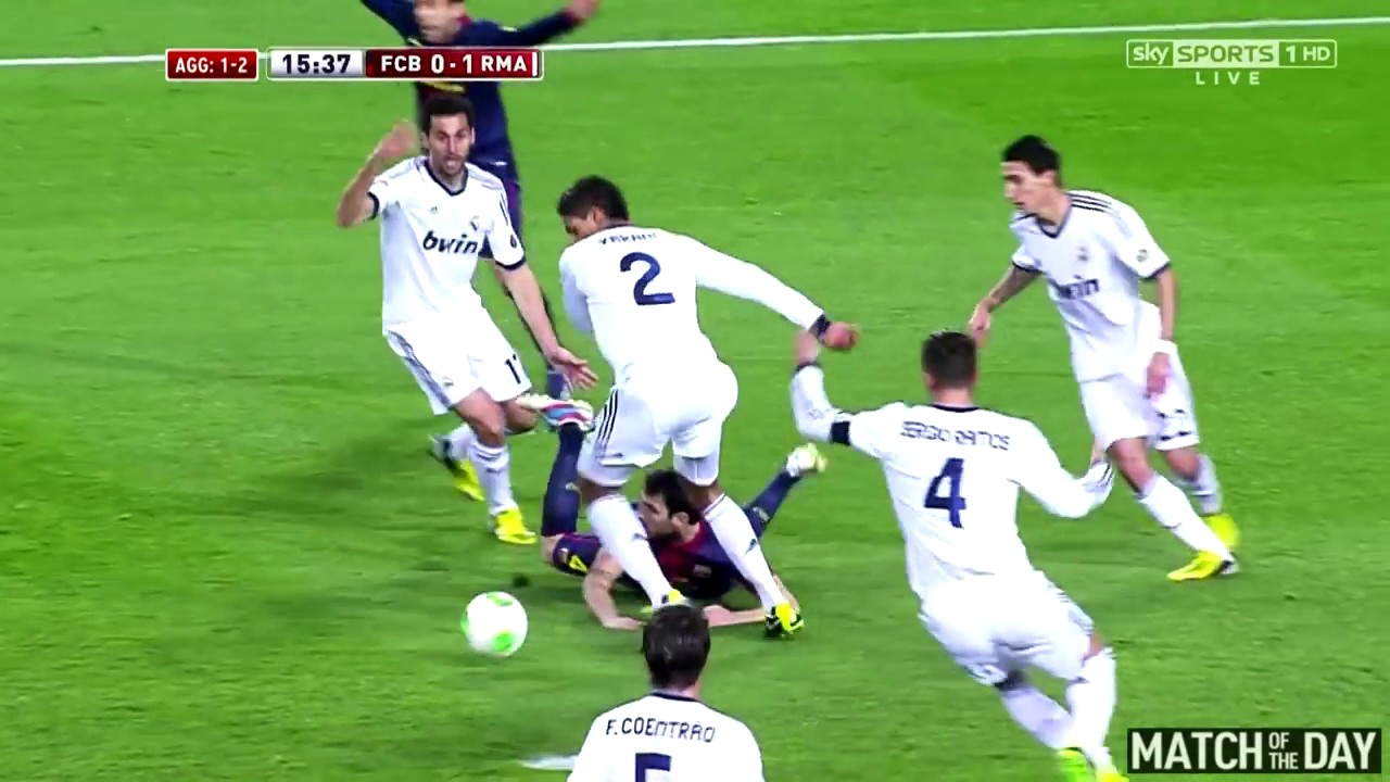 Barcelona vs Real Madrid 1 3 Copa del Rey Semi Final All Goals   Extended Highlights 26 02 2013 HD