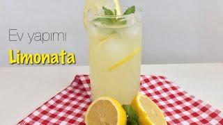 Tam tadında enfes EV YAPIMI LİMONATA / yaz içecekleri / soğuk içecekler / Figen Ararat