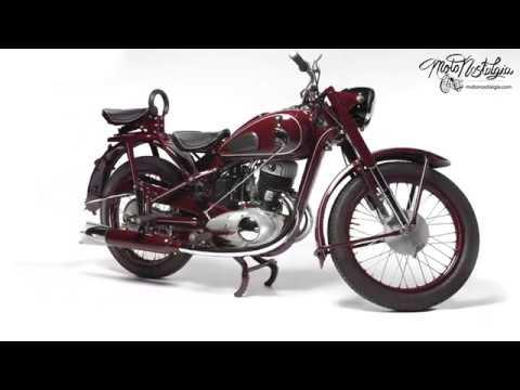 IZH 49 classic motorcycle