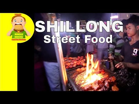Shillong Street Food |Tribal Khasi Cuisine|Hunger Knocks