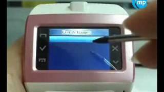 mobilezonas.com Часы телефон EG100, Watch Phone(Продажа китайских сотовых телефонов, наручные GSM часы-телефоны и лучшие копий Vertu, копии i-Phone, копии NOKIA и..., 2009-12-23T11:04:01.000Z)