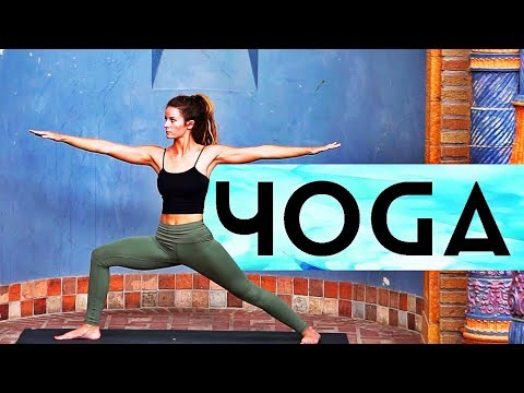 1 Hour Intermediate Yoga (Rocket Yoga Inspired)