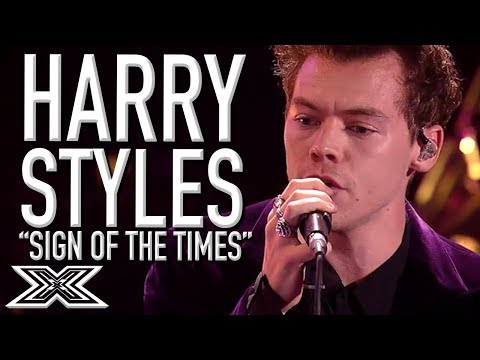 HARRY STYLES Performs Sign Of The Times On X Factor 2017!  X Factor Global