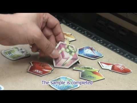 GCC LaserPro   Creating Customized Magnet Using Laser Cutting