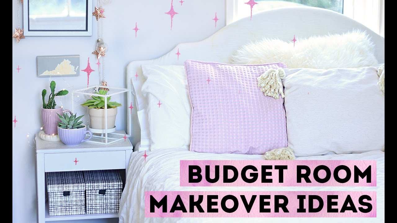 How To Decorate On A Budget 10 Cheap Room Makeover Ideas Youtube