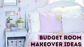 How To Decorate on A Budget | 10 Cheap Room Makeover Ideas