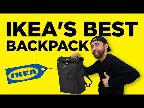 Ikea Makes the Best $30 Commuter Roll Top Backpack