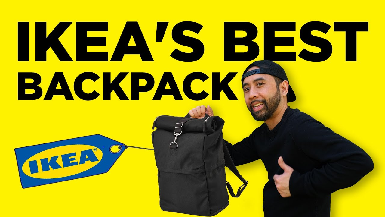 96b8cf489ff8 Ikea Makes the Best  30 Commuter Roll Top Backpack - YouTube