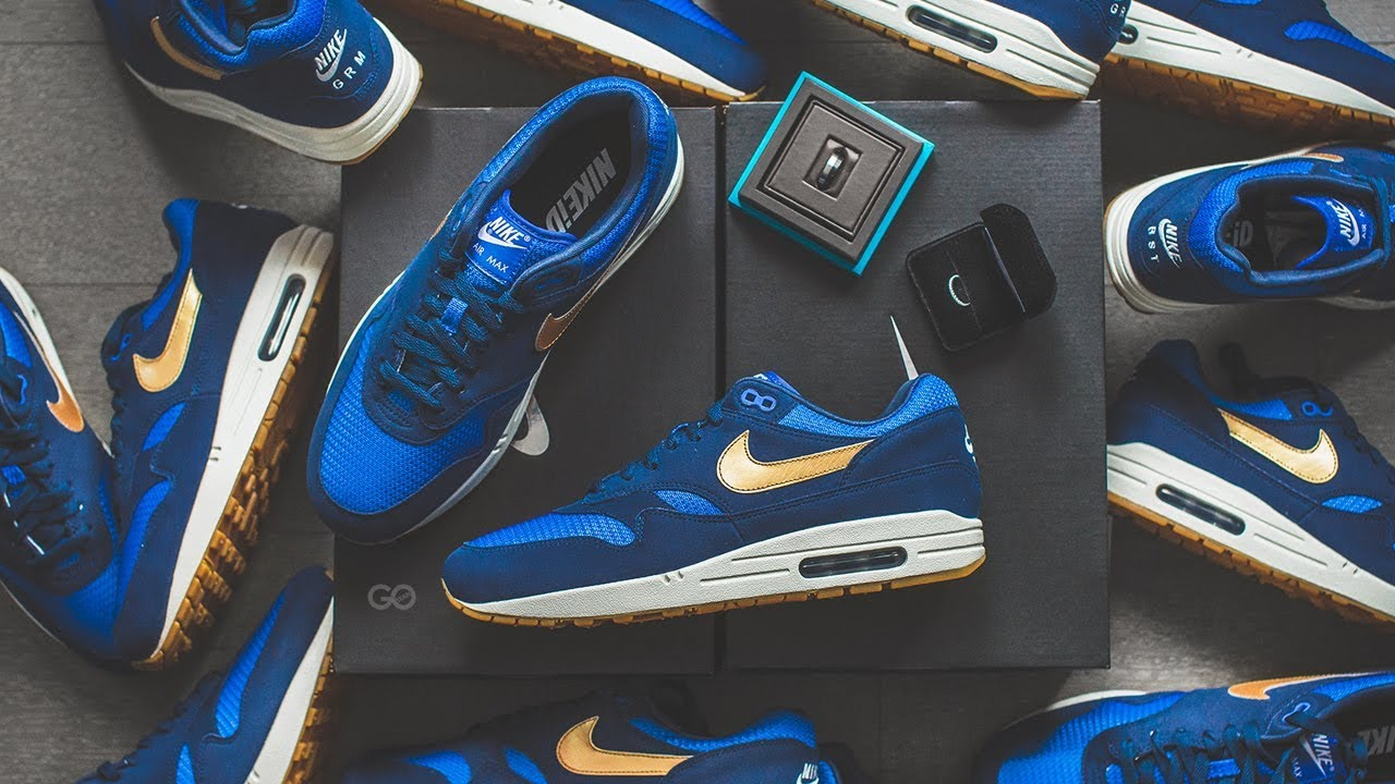 Adiós Pato Valiente  Nike Air Max 1 ID (Wedding Day Shoes)