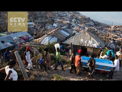 Hurricane Matthew aftermath: CCTV interviews Haiti's interim president
