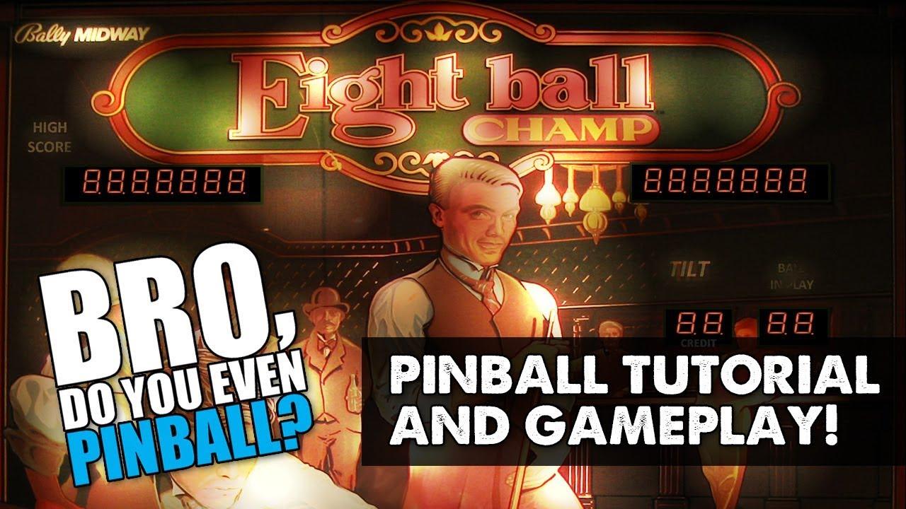 Eight Ball Champ pinball (Bally a1c5ad1262a