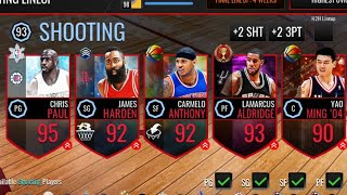 SEXIEST CARDS EVER 👀 #NoHomo | NBA LIVE MOBILE!
