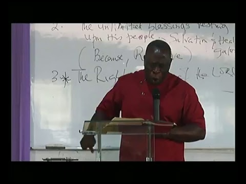 Benin House Fellowship;The Righteousness Of The LORD-Bro Hope Ovwah