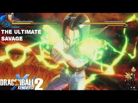 Characters Nobody Uses ANDROID 17 ! - Xenoverse 2