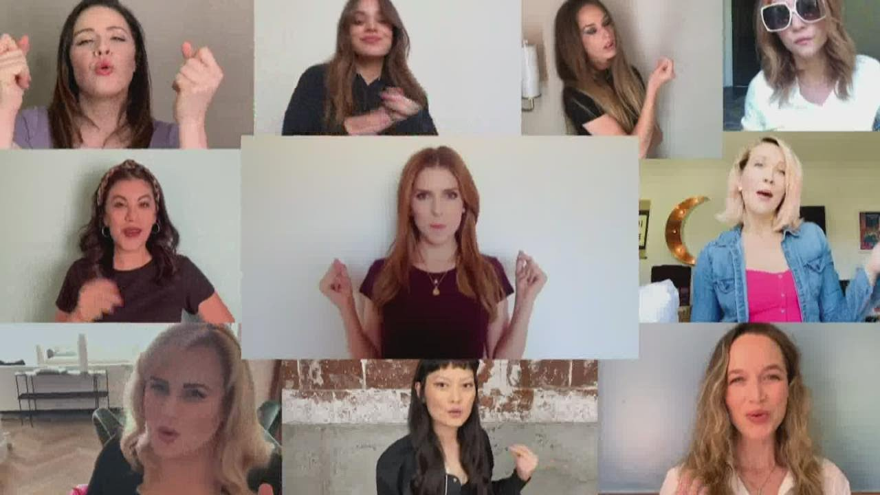 WATCH: Pitch Perfect cast virtually reunites, sings for